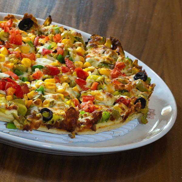 پیتزا سبزیجات گاجره پلاس