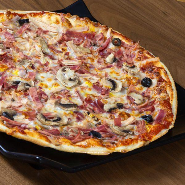 پیتزا ایتالیایی میکس لاور بیکن گاجره